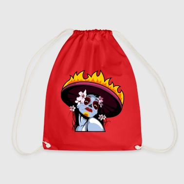 Day of the Dead - Drawstring Bag