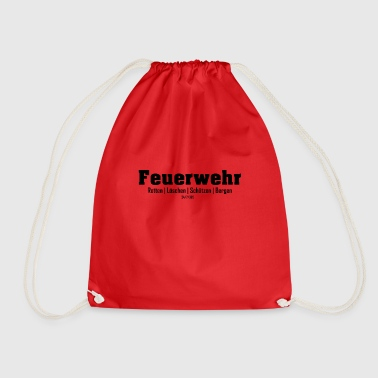 Rescue Firefighters rescue rescue shooters Bergen - Drawstring Bag