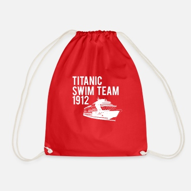 1912 TITANIC 1912 SWIMMING TEAM, DIVERTIDO RETRO NÁUTICO C - Mochila saco