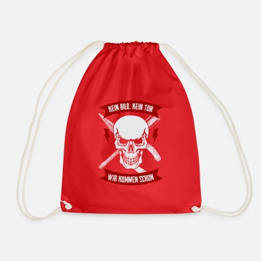 Electronics Technician electronics technician - Drawstring Bag