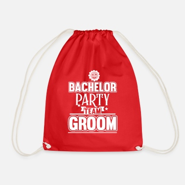 Party Bachelor Party Team Groom - Turnbeutel
