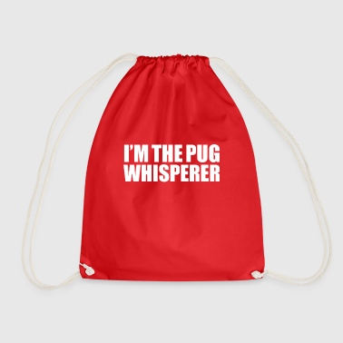 Advocate Pug Whisperer Animal Advocate Dog Lover Owner - Drawstring Bag