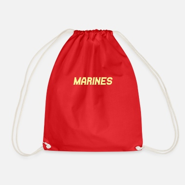 Marine marines - Drawstring Bag