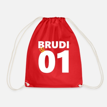 BRUDI brother Bratan's mate - Drawstring Bag