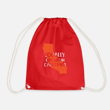 California California, California - Drawstring Bag