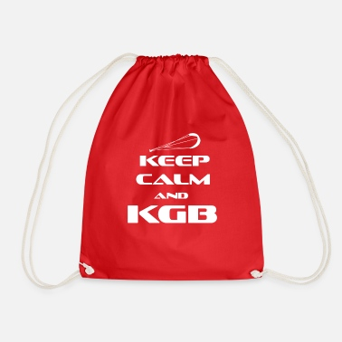 Kgb KITESURFING - KEEP CALM AND KGB - Drawstring Bag