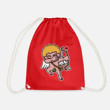 Cupide Dab dabbing Cupid Valentine's day  - Sac de sport léger