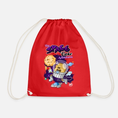 Funny Collection Space cake - Drawstring Bag