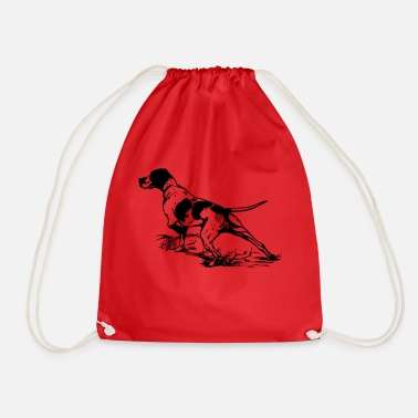 Hunting Dog Dog hunting dog hunting - Drawstring Bag