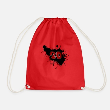 Date Of Birth Date of birth 20 years - Drawstring Bag