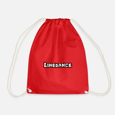 Countrymusic Linedance, western, countrymusic, gift, funny, - Drawstring Bag