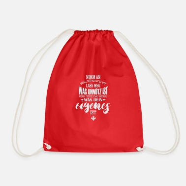 Learn Learn - Drawstring Bag
