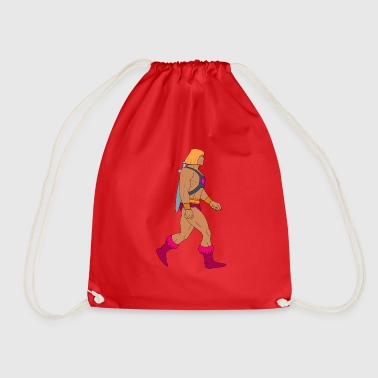 old school - Drawstring Bag