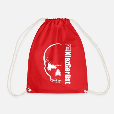 Neighborhood neighborhood scaffolding - Drawstring Bag