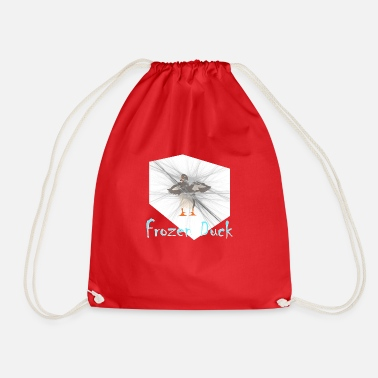 Frozen Frozen duck - frozen duck - Drawstring Bag