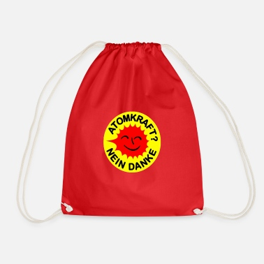 Nuclear Nuclear power, no thank you - Drawstring Bag