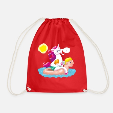 Funny Collection Unicorn water animal inflatable - Gymbag