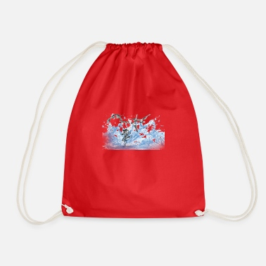 wave - Drawstring Bag