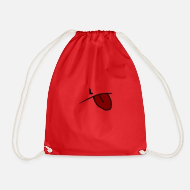 Tongue tongue - Drawstring Bag