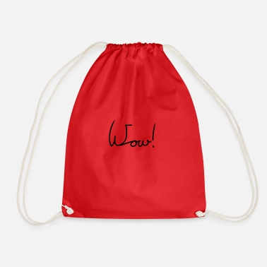 Wow Wow - Drawstring Bag