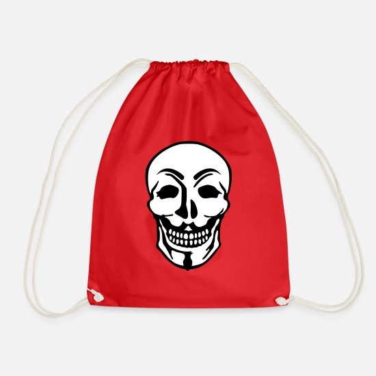 Anonymous Bags & Backpacks - Anonymous - Drawstring Bag red