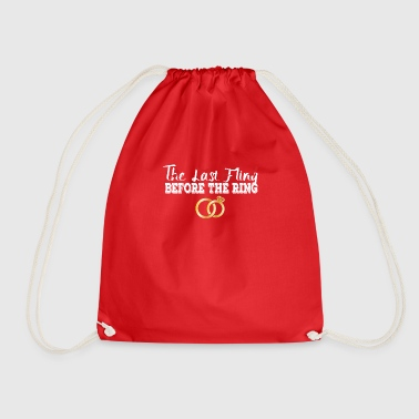 Bachelors farewell - Drawstring Bag