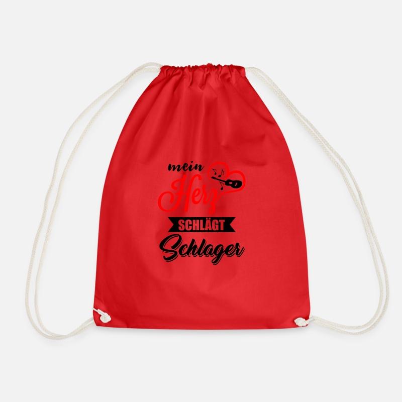 Schlager Alemán Bolsas y mochilas - golpear - Mochila saco rojo af927cbc72d
