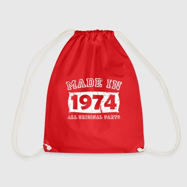 Birth Birth year birth born 1974 - Drawstring Bag