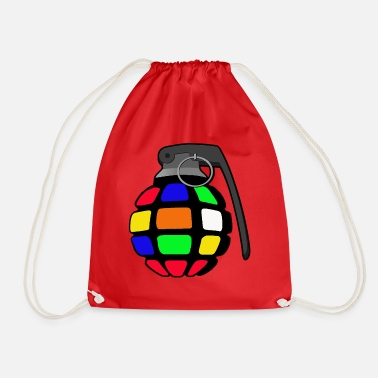 Magic Magic cube grenade - Drawstring Bag