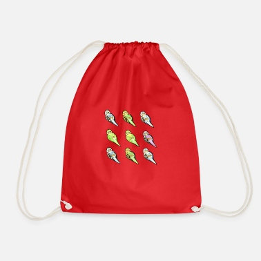 Budgie Budgies - Drawstring Bag