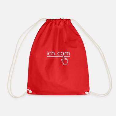 Internet ich komm - Drawstring Bag