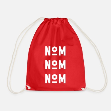 Name NAME NAME NAME - white - Drawstring Bag