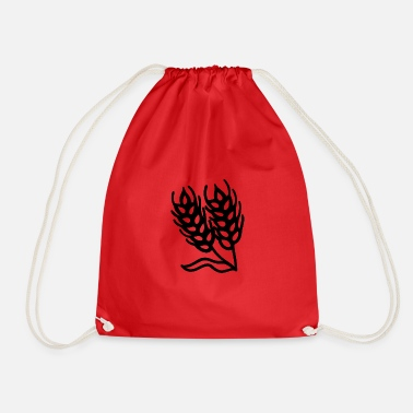 Wheat wheat - Drawstring Bag