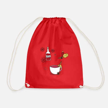 Mulled Wine mulled wine - Drawstring Bag