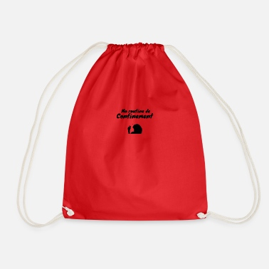 Coronavirus Containment humor gift - Drawstring Bag