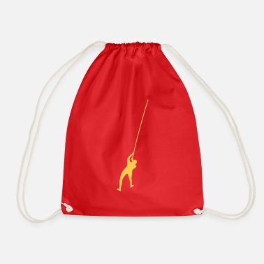 Ice climbing - Drawstring Bag