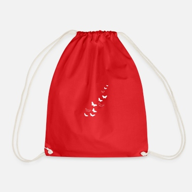 Free Thinker Butterflies Free Warm Spring - Drawstring Bag