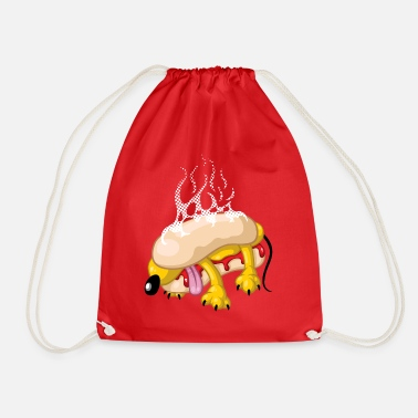 Hot dog - Drawstring Bag