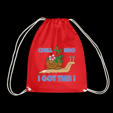 Snail - Kids T-Shirt - Drawstring Bag