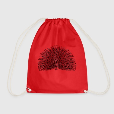 peacock - Drawstring Bag