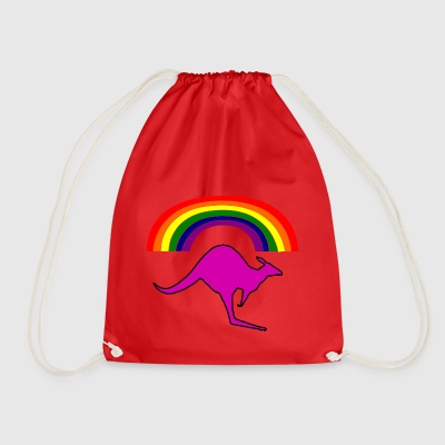 gay astrailia - Drawstring Bag