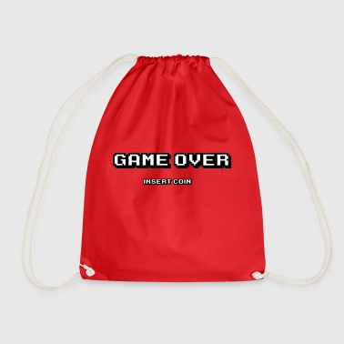Game over insert coin - Drawstring Bag