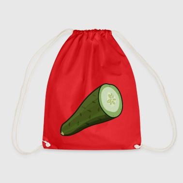 cucumber - Drawstring Bag