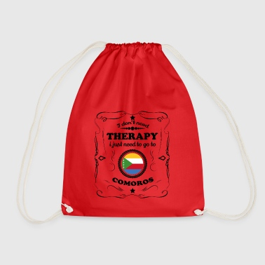 DON T NEED THERAPY GO COMOROS - Drawstring Bag