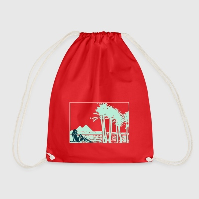 girl nil - Drawstring Bag