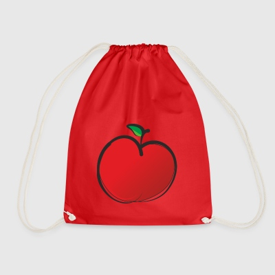 Apple - Drawstring Bag