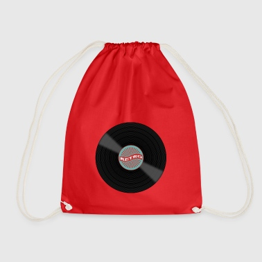 Vinyl record - Drawstring Bag