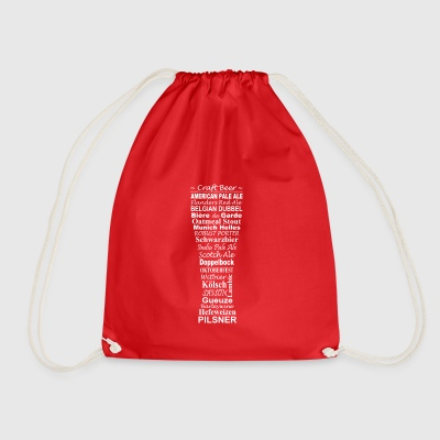 Beer, craft beer - Drawstring Bag