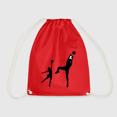 volleyball - Drawstring Bag
