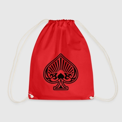 As Piques Poker Cards - Drawstring Bag
